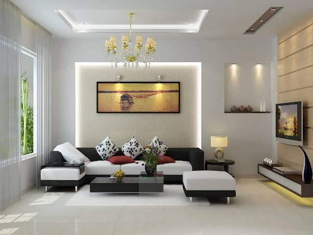 Những cách phối màu sơn cho nội thất trung tính