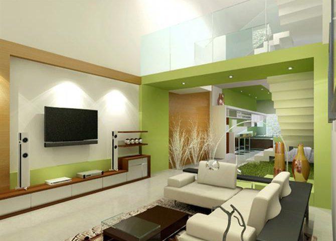 Chọn màu sơn nhà nội thất đẹp cho không gian phòng khách