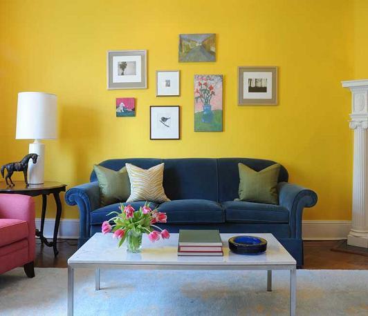 Những màu sơn đang được ưa chuộng nhất 2017