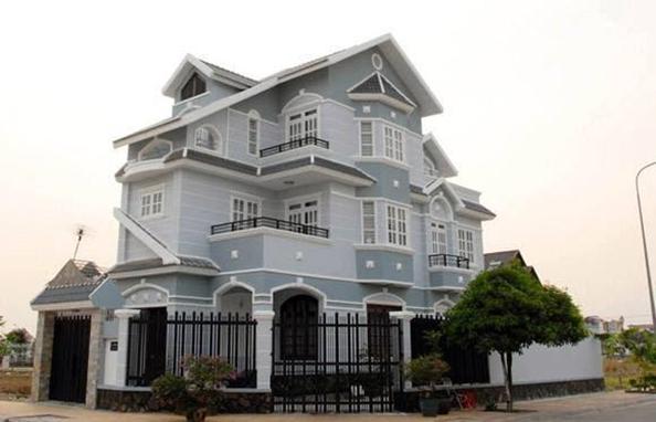 Màu sơn mặt tiền nhà đẹp nhất hiện nay