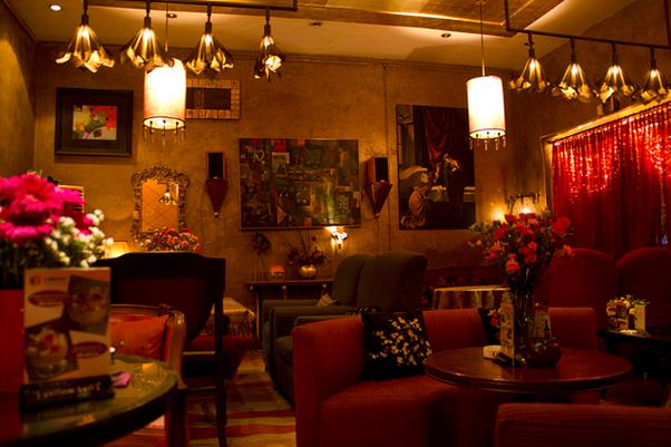 Bí quyết lựa màu sơn tường quán cà phê