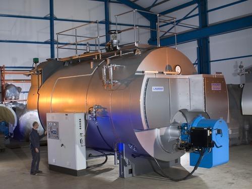 Hệ thống máy móc công nghiệp được sơn chịu nhiệt bảo vệ