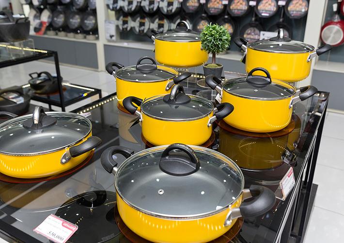 Sơn chịu nhiệt tạo lớp bảo vệ ưu việt cho các vật dụng nhà bếp