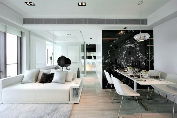 màu sơn nội thất hiện đại