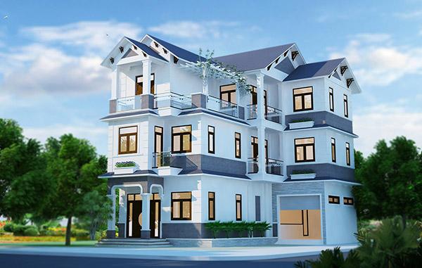 Sơn ngoại thất Super Nano giúp cho ngôi nhà có nét thẩm mỹ cao hơn, độ bền vượt trội